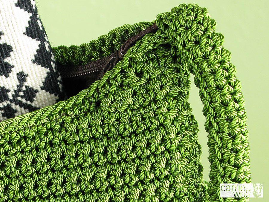 Crochet Pocketbook Patterns Tags Carrie Wolf Crochet Crochet Purse