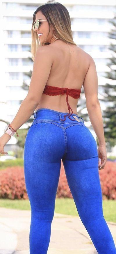Jeans Arsch