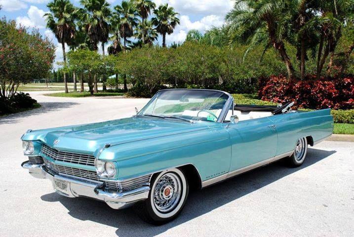 64 Cadillac convertible | Cadillac | Pinterest | Cadillac ...
