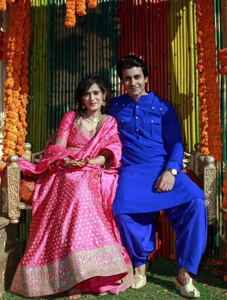 Tv Actors Gautam Rode And Pankhuri Awasthi Wedding Pics