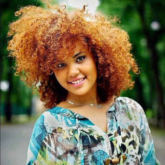 Beautiful Natural Hair Color