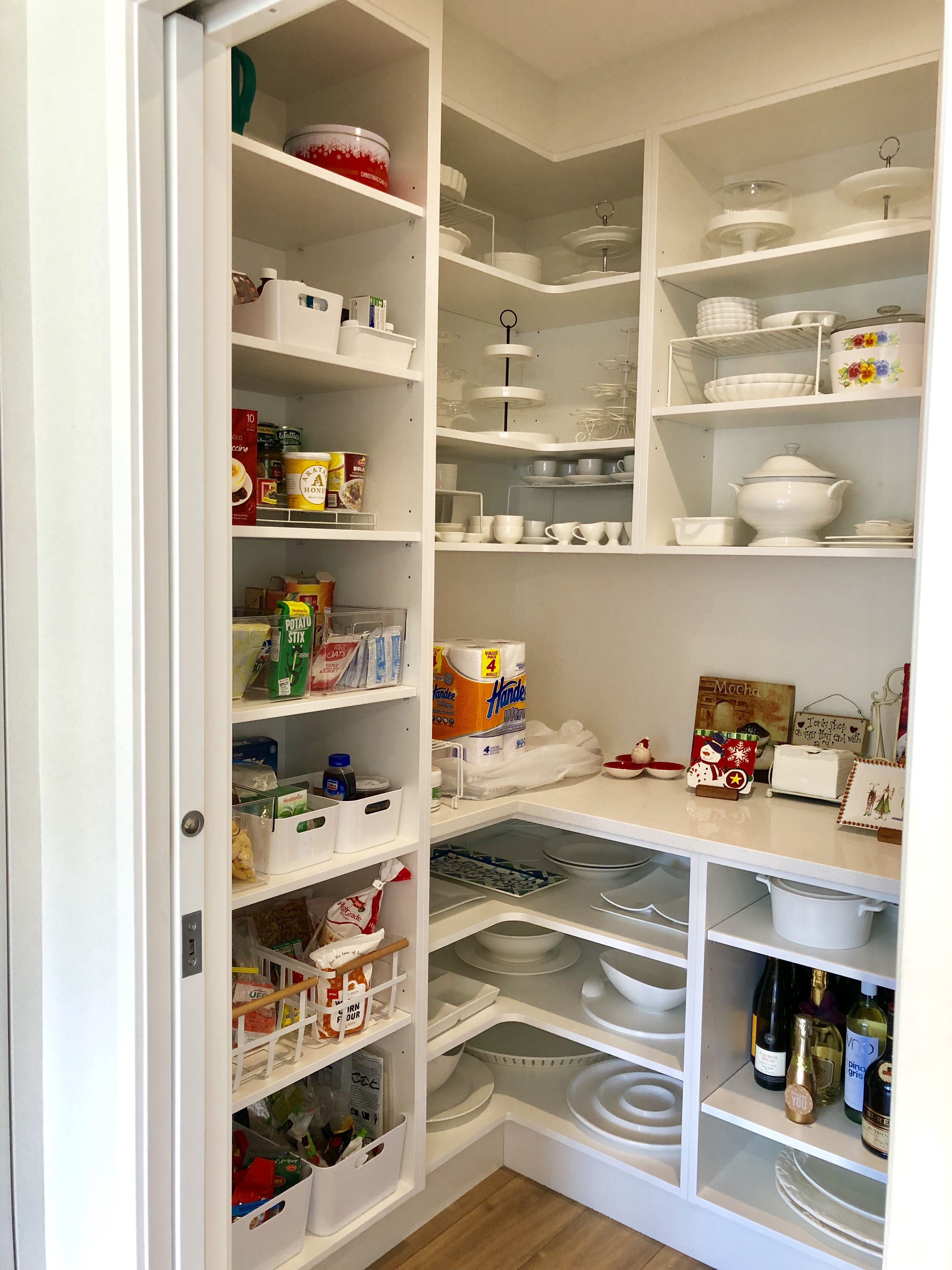 loving my new pantry | Kitchen pantry design, Pantry design ...