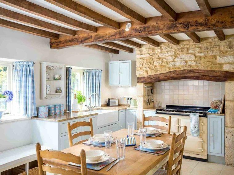 Cocina rustica   Interiores para cocina   Pinterest   Rusticas ...
