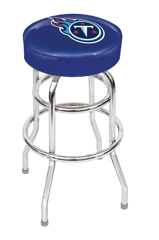 Show off your favorite sports team with this Tennessee Titans Bar Stool by Imperial USA. This bar stool will add the finishing touches to any Tennessee Titans Man Cave Bar and allow your friends and f