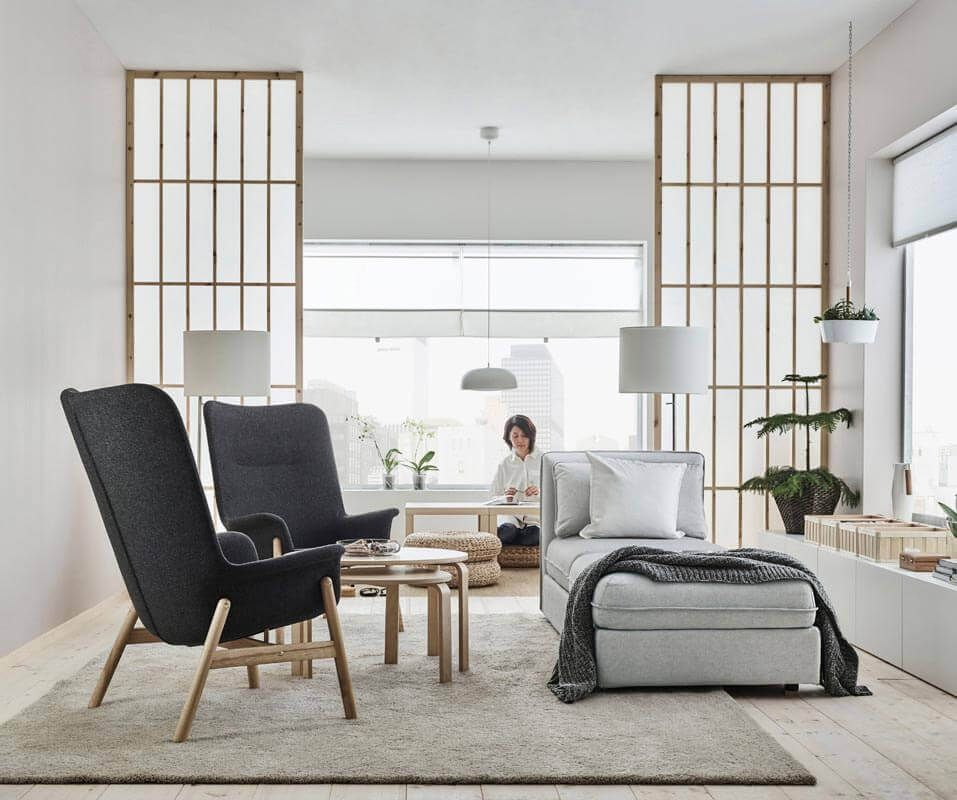 Hingeschaut Der neue IKEA Katalog 2018 ist da   Elegantes wohnzimmer, Wohnzimmereinrichtung ...