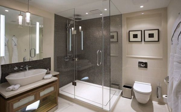 Latest Toilet Design bathroom : latest suite modern bathroom design with small tiles