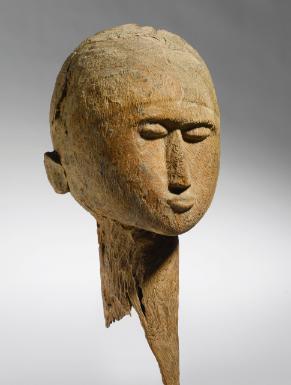 Lobi Head, Burkina Faso