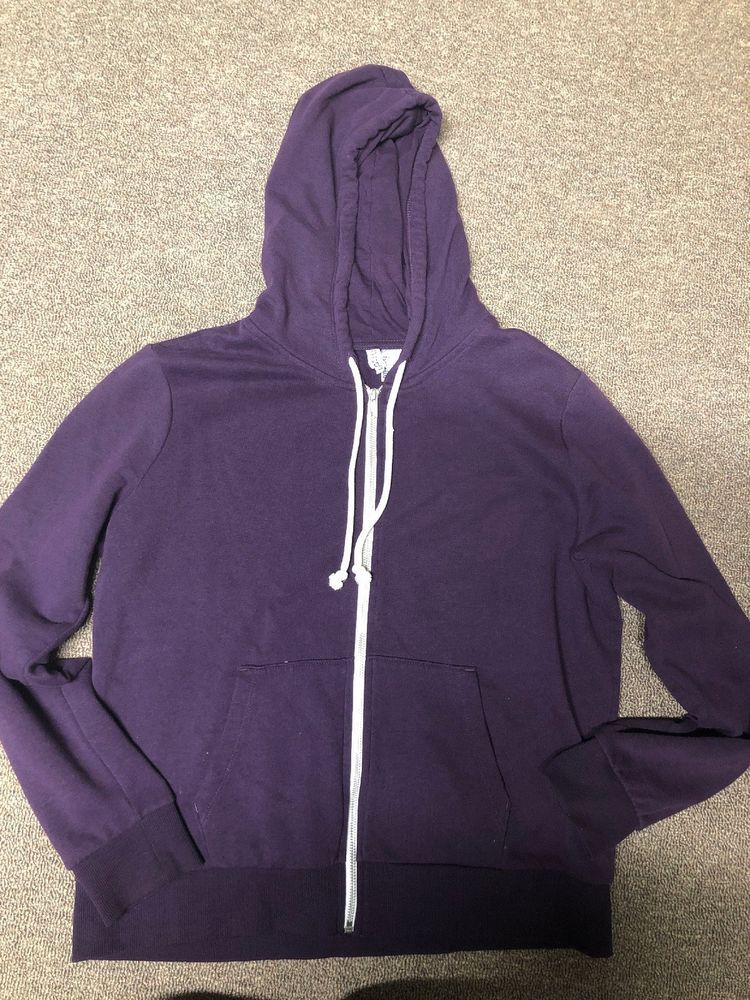 Womens H&M Divided Zip Up Hoodie Size Large #fashion