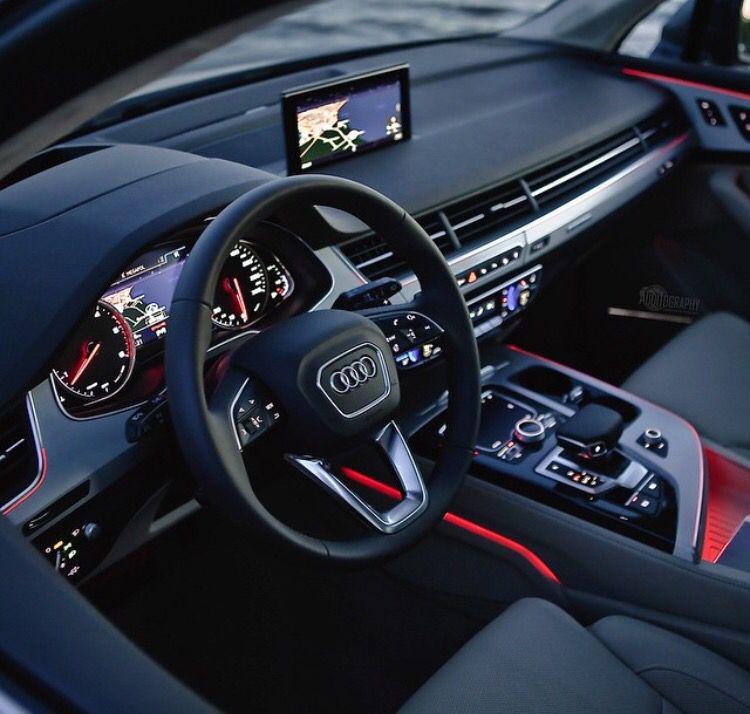 Descubra E Compartilhe As Mais Belas Imagens De Todo O Mundo Audi Interior Audi Q7 Interior Audi Q7
