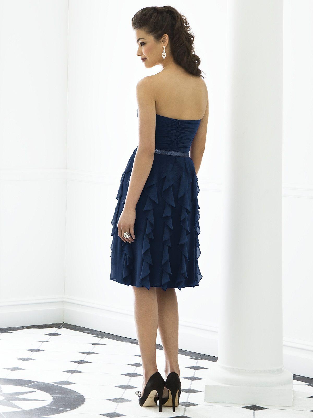 Moss After Six Bridesmaid Dress. dessy♥weddingchicks