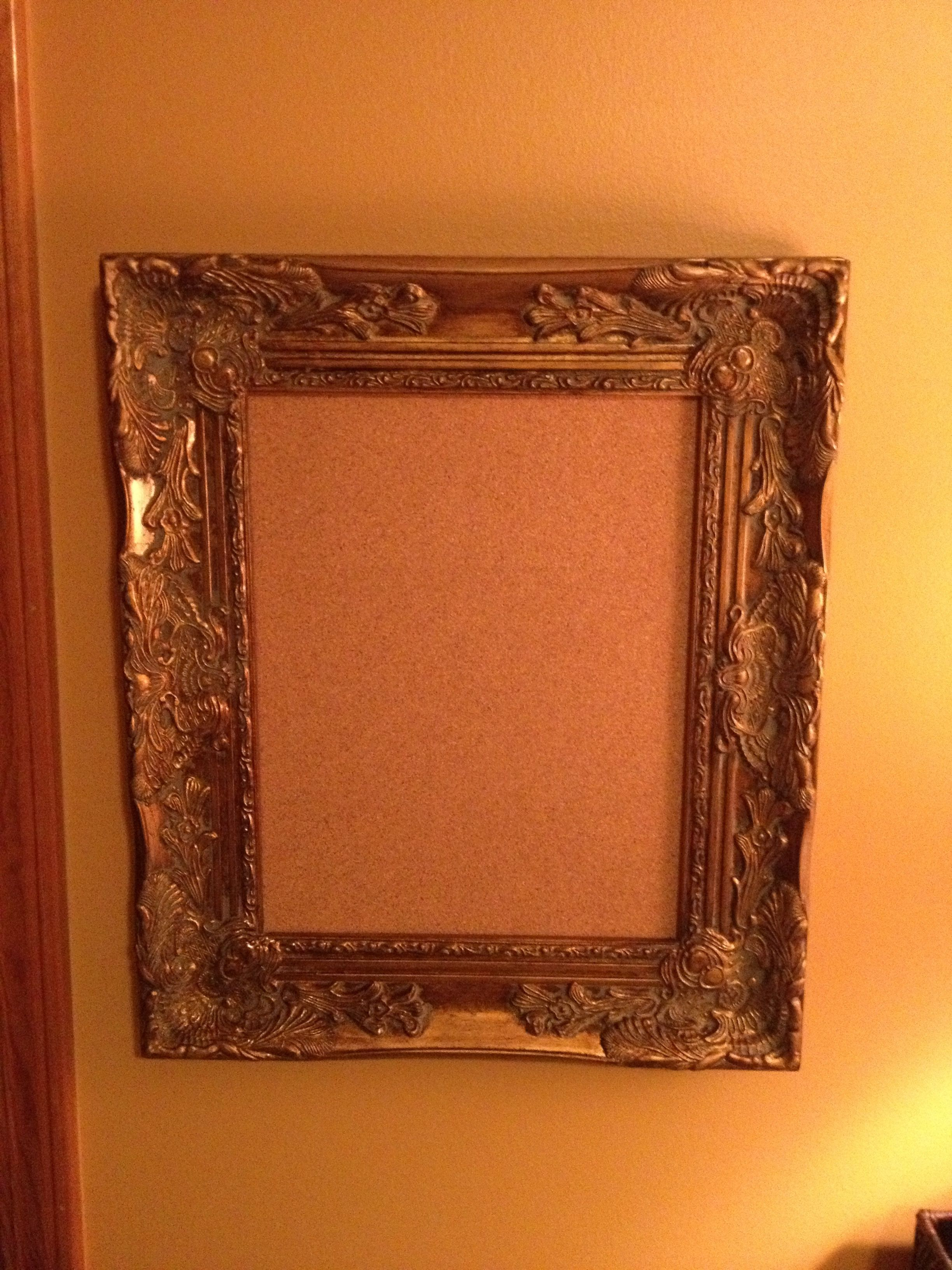 Get A Unframed Sheet Of Cork Board To Fit A