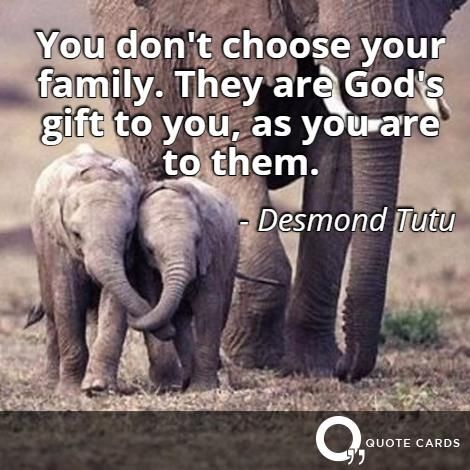 Happy #NationalSiblingsDay! http://quotecards.co/quotes/desmond-tutu/you-dont-choose-your-family-they-are-gods-gift-to/483