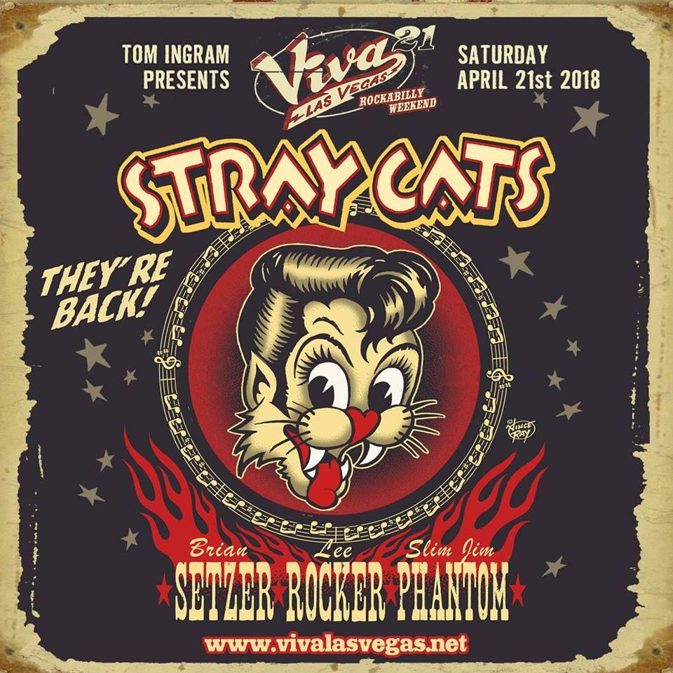 Stray Cats are back! straycats Viva las vegas
