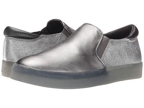 Womens Shoes Sam Edelman Miles Pewter/Argento Metallic Leather