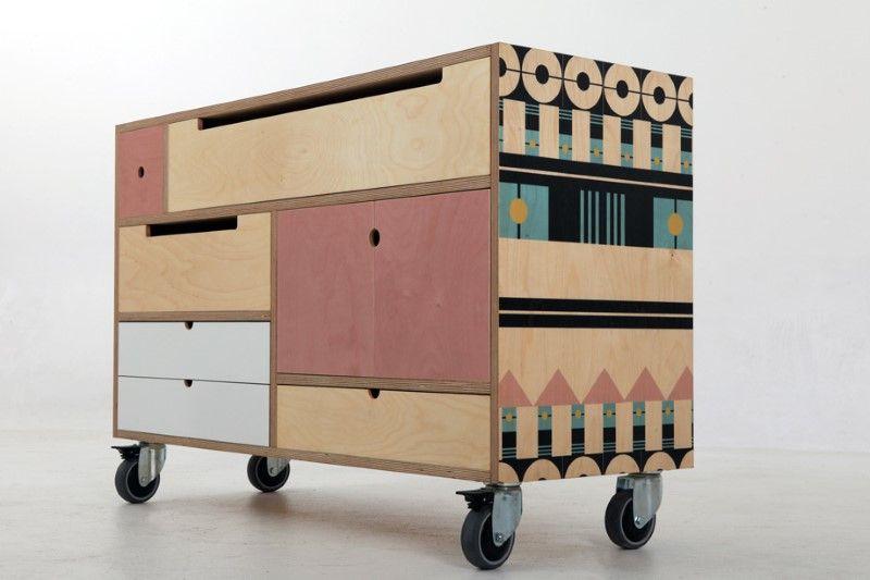 Modular Storage Concept Play Play Pattern Mobilier De Salon Decoration Interieure Mobilier
