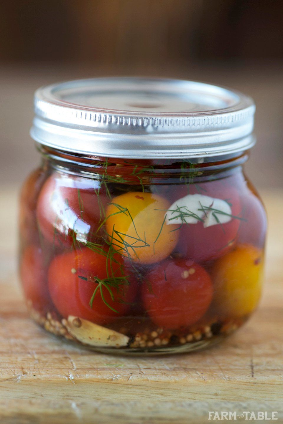 Hostess: how to pickle tomatoes in jars 66