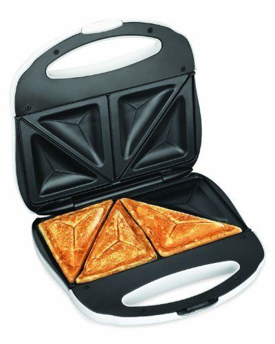 The toasted sandwich machine is needed for the perfect toasties.