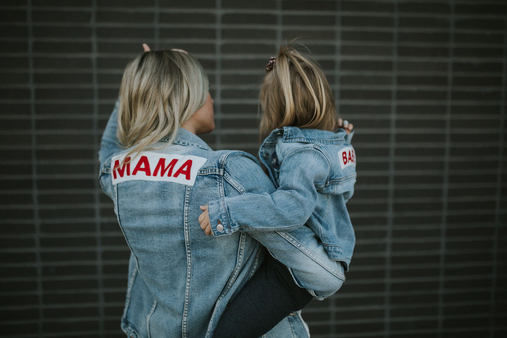 87ff8d5118809 Mama + Babe Denim Jackets - Living in Color | STYLE || Everyday ...