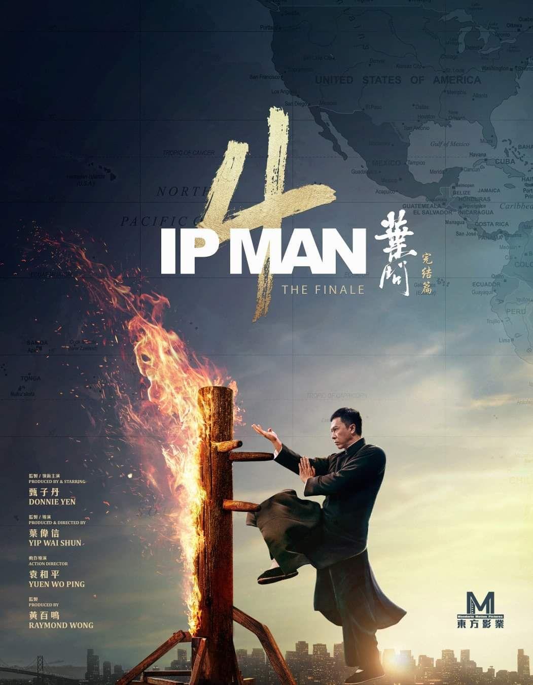 New poster of Donnie Yen's Ip Man 4 Ip man, Donnie yen