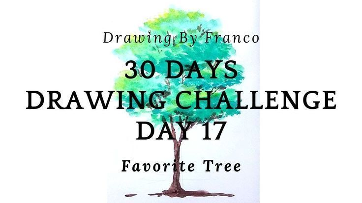 CH63: 30-Day Mark Challenge 17 - (How to Draw a Tree?) - #a #tagige #character Challenge #character - - #challenge -