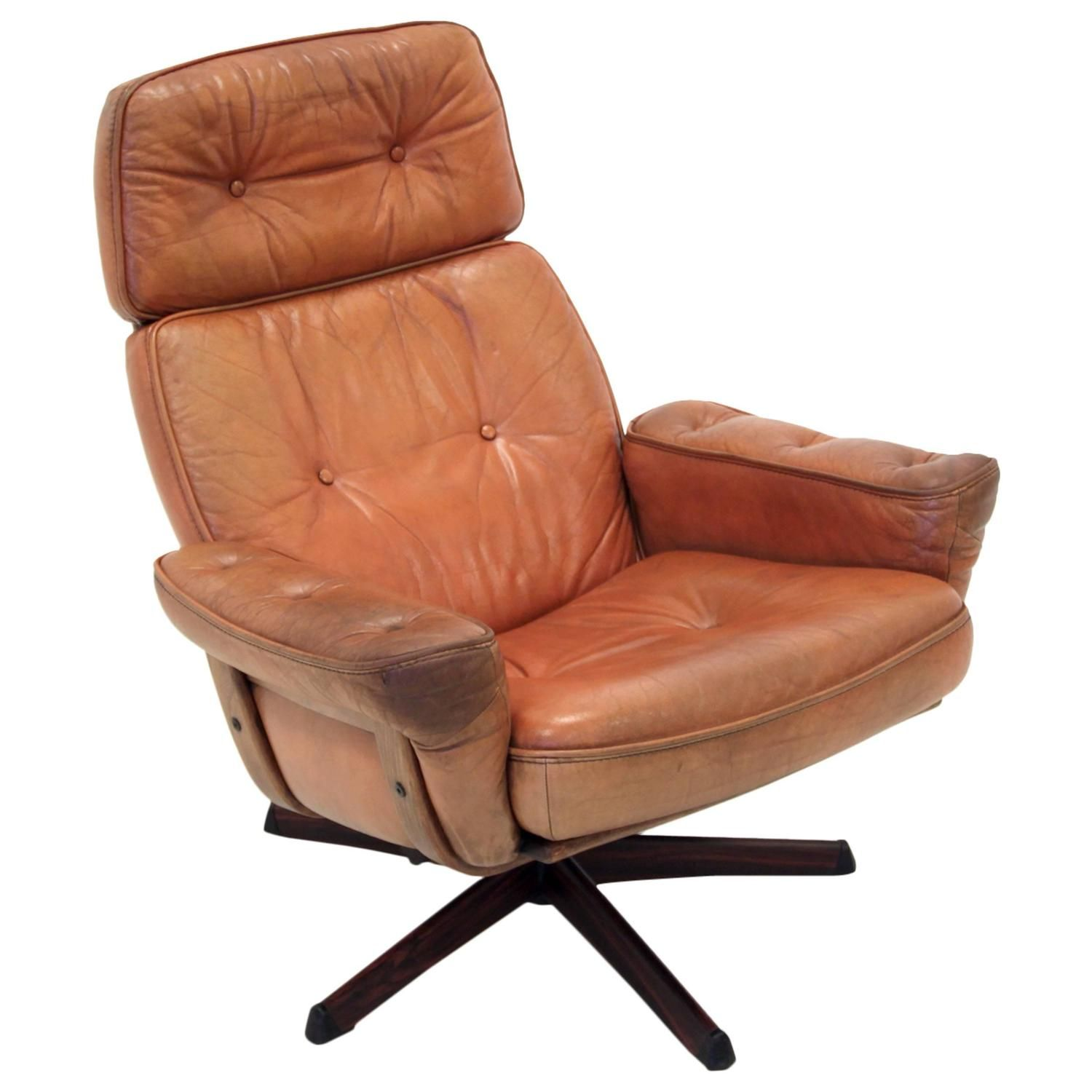 images of mid century chairs | Swedish Mid Century Lounge Chair at 1stdibs
