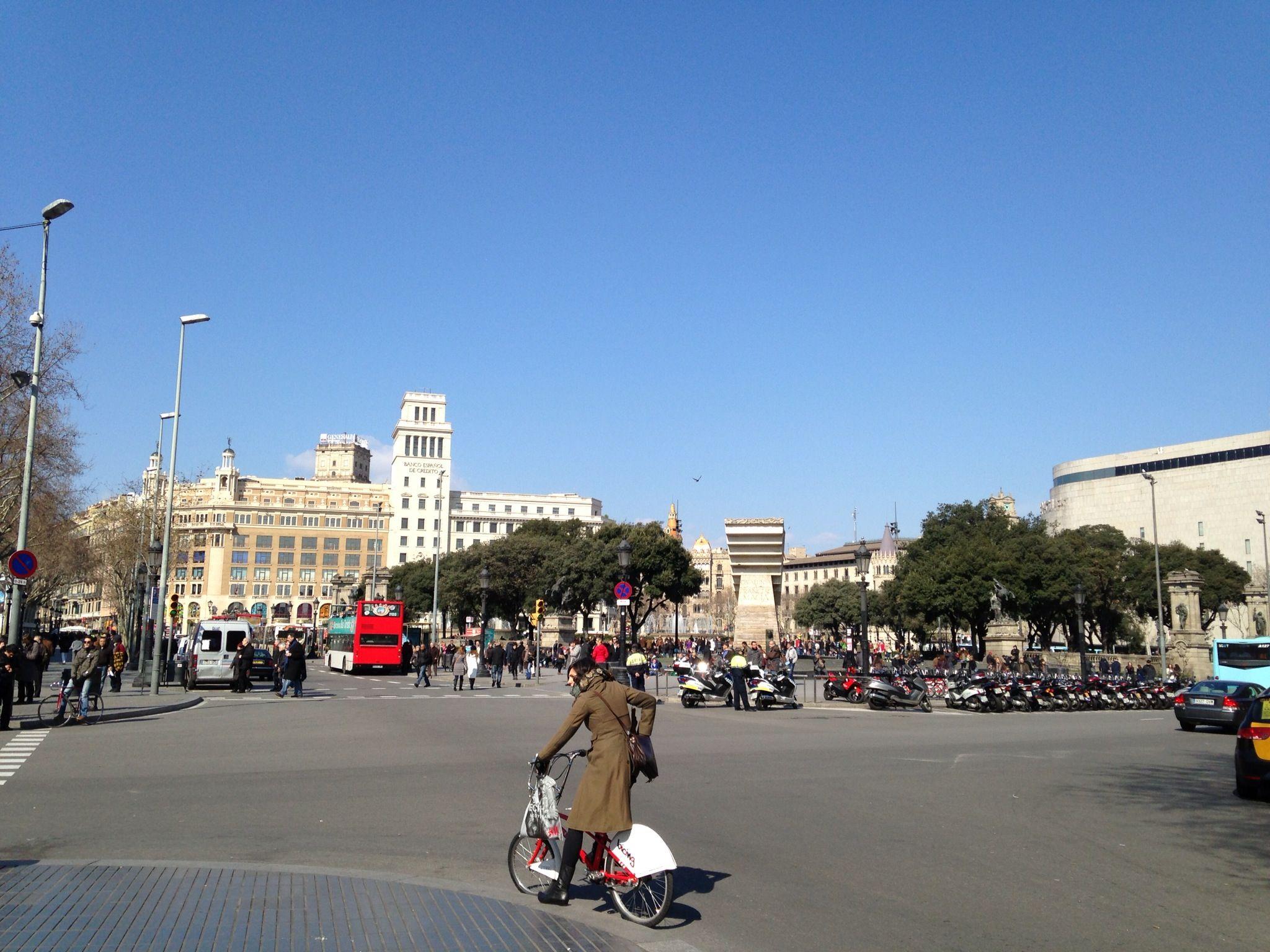 바르셀로나 카탈루냐광장