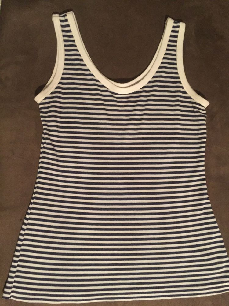 161a12ebd9e Juniors Womens Striped Tank Top Size Large   fashion  clothing  shoes   accessories  womensclothing  tops (ebay link)