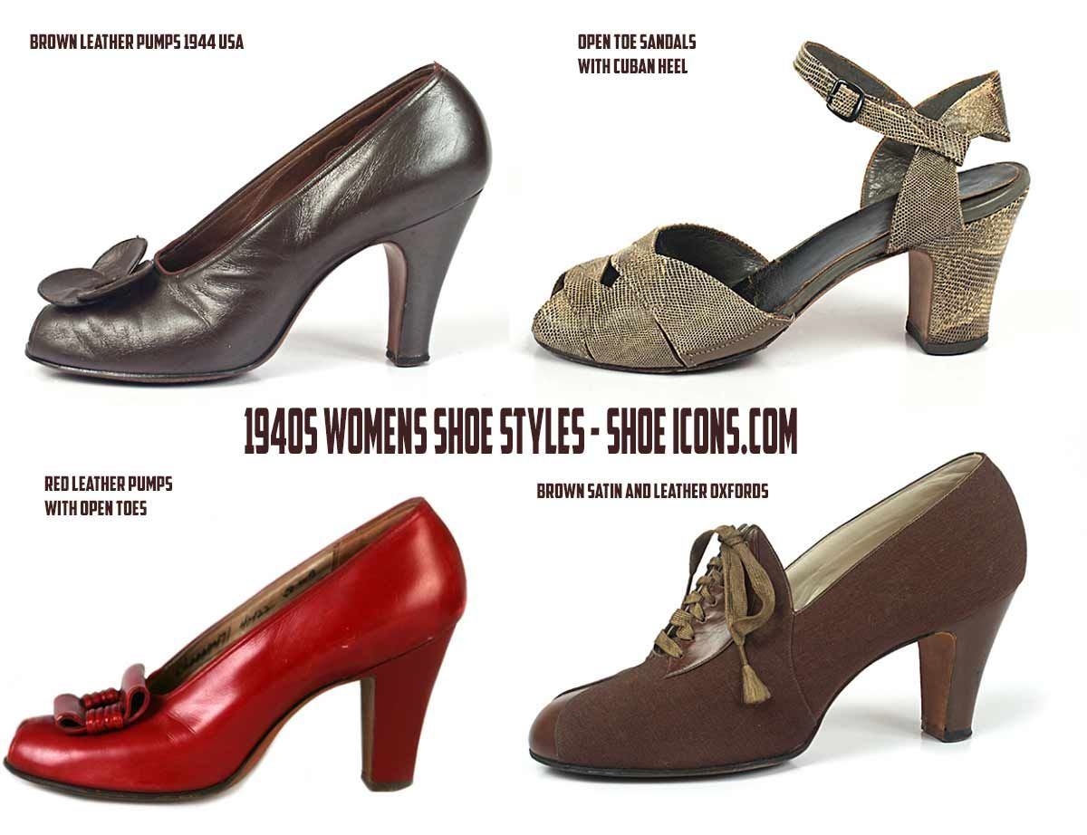 97a6840cd7746 Vintage Style Shoes of the 1940's - A Shopping Guide | 40s Charm ...