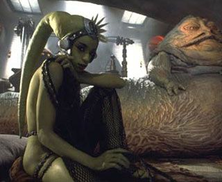 Oola slave girl of Jabba The Hutt   Star Wars: Hutts In ... Jabba The Hutt And Oola