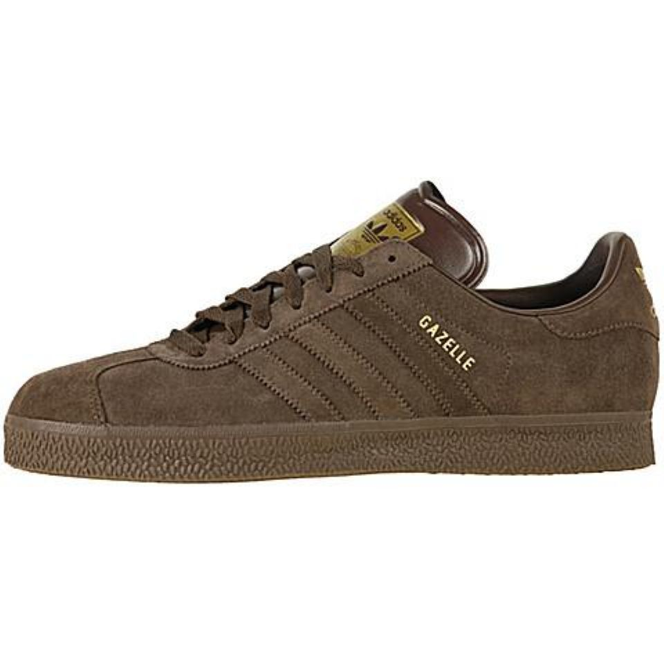Posible Persona enferma Tigre  Adidas Gazelle 2 - Brown / Brown / Gold | Zapatos, Zapatillas
