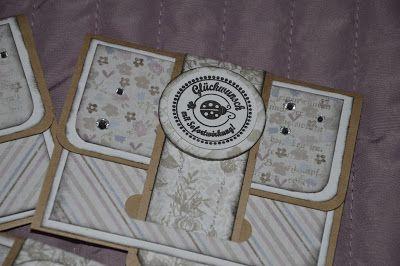 °++ Stibberles -Zauberwerkstatt ++°: Umschlag-Gutscheinkärtchen