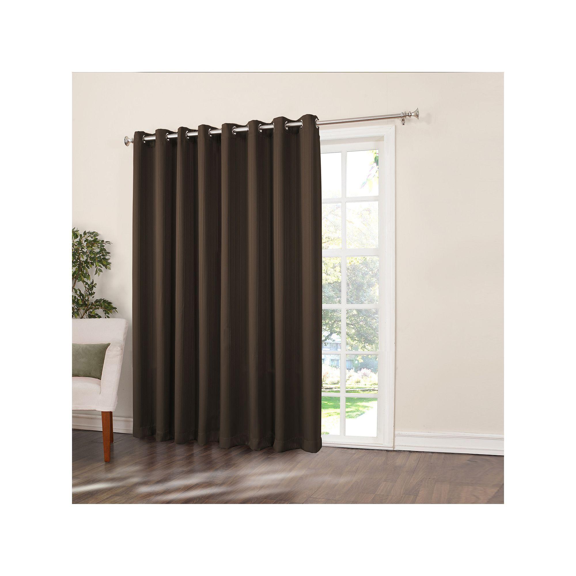 Home classicsethan blackout patio door curtain uu x