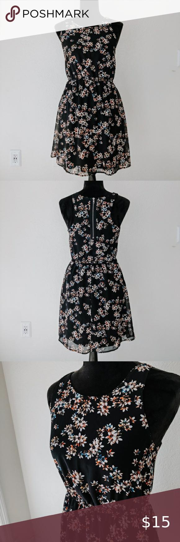 Target Black Floral Dress Floral Dress Black Floral Dress Colorful Dresses [ 1740 x 580 Pixel ]