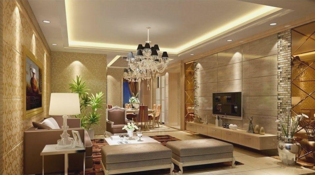 amazing living room false ceiling designs   17 Amazing Pop Ceiling Design For Living Room   Interior ...