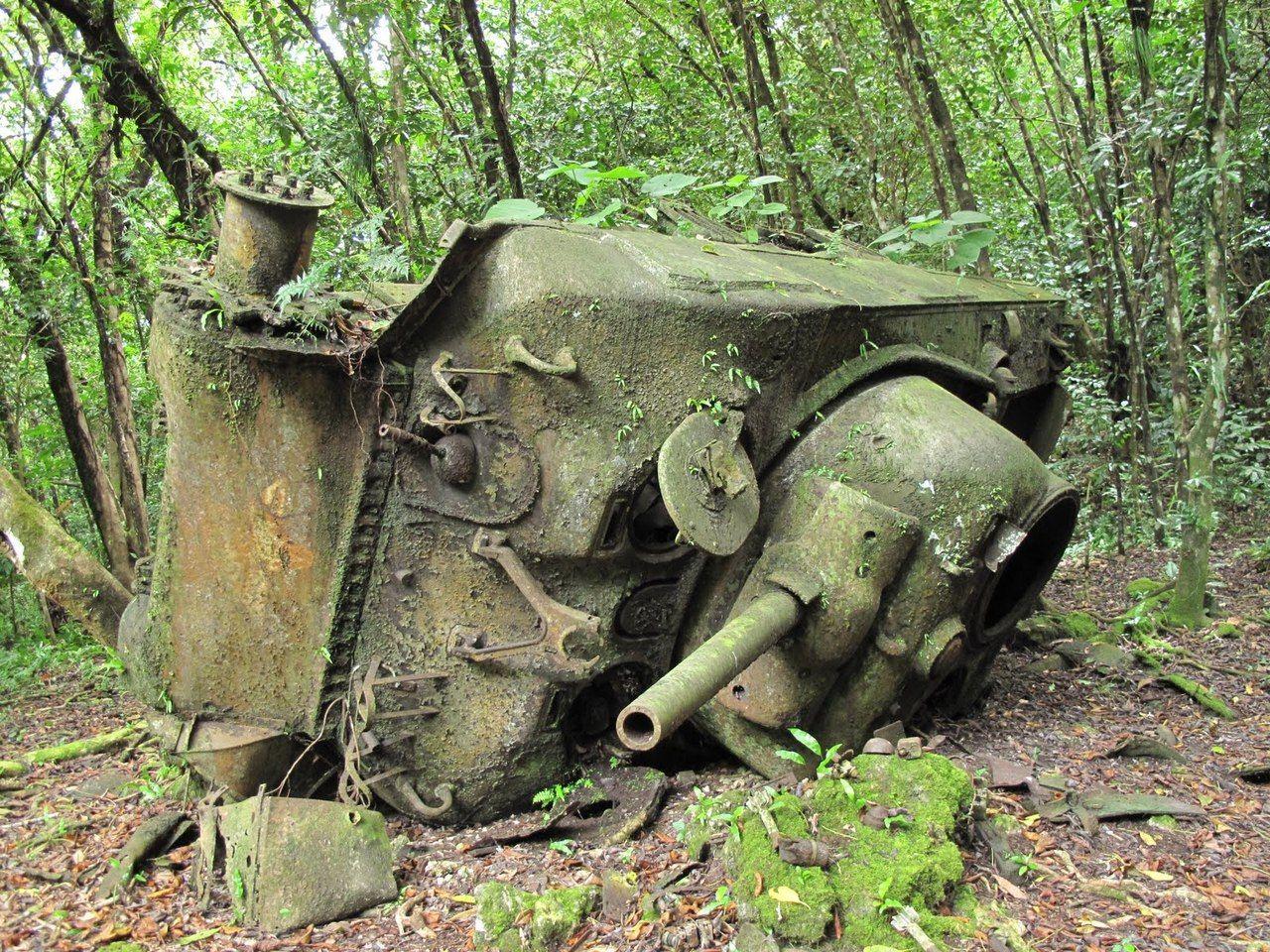 фото брошенной военной техники времен вов
