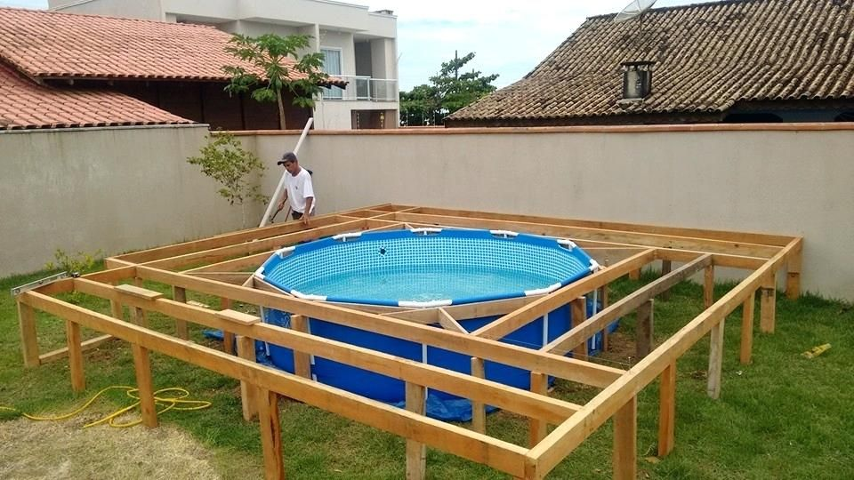 Deck Out Of Pallets Make Your Own Swimming Pool Deck Out Of