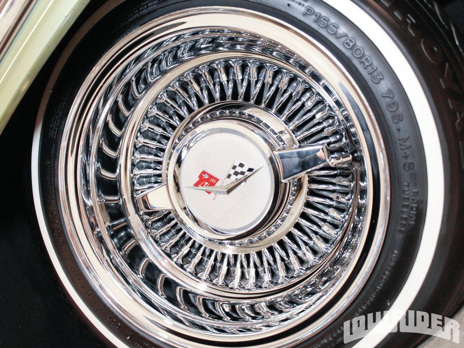 1959 Chevrolet Impala 13 Inch Tru Ray Spoke Rims Photo 13 Rims