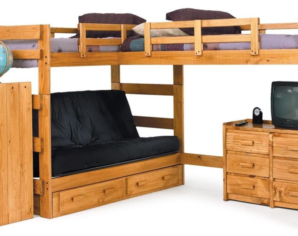 Loft bed with desk queen   Bunk Bed with Desk On top  Interior Design Bedroom Ideas Check