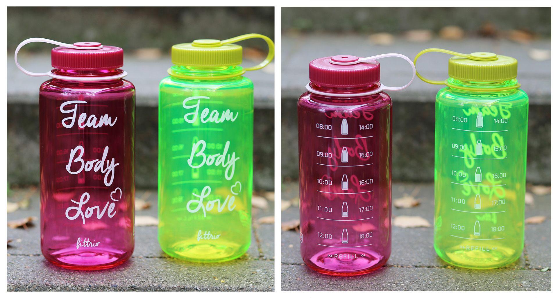 Team Bodylove Trinkflasche | Fit Trio Food & Fitness Blog aus Hamburg