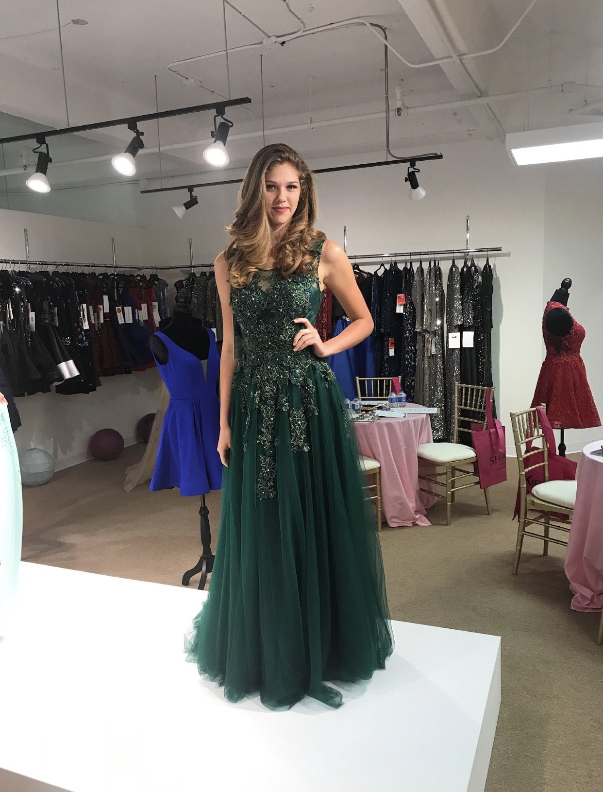 One Of Our Favorite 2018 Looks From The Prom Market In Atlanta How Whimsical And Magical Is This Prom Trends Designer Prom Dresses Evening Dresses