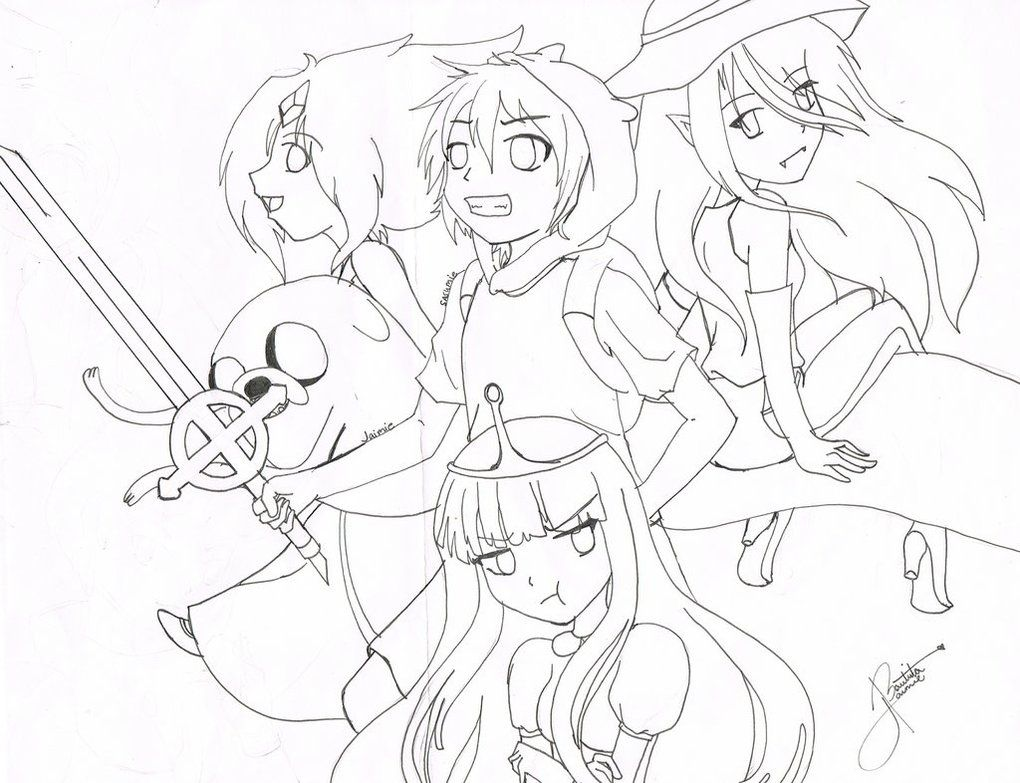 Pin By Brandy Styles On Things I Love Adventure Time Coloring Pages Adventure Time Anime Cute Pictures