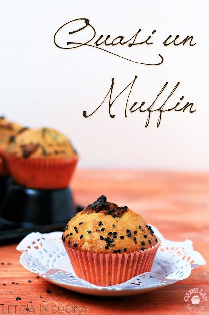 Letizia in Cucina: Quasi un muffin all\'ananas e sesamo ... Cakes ...