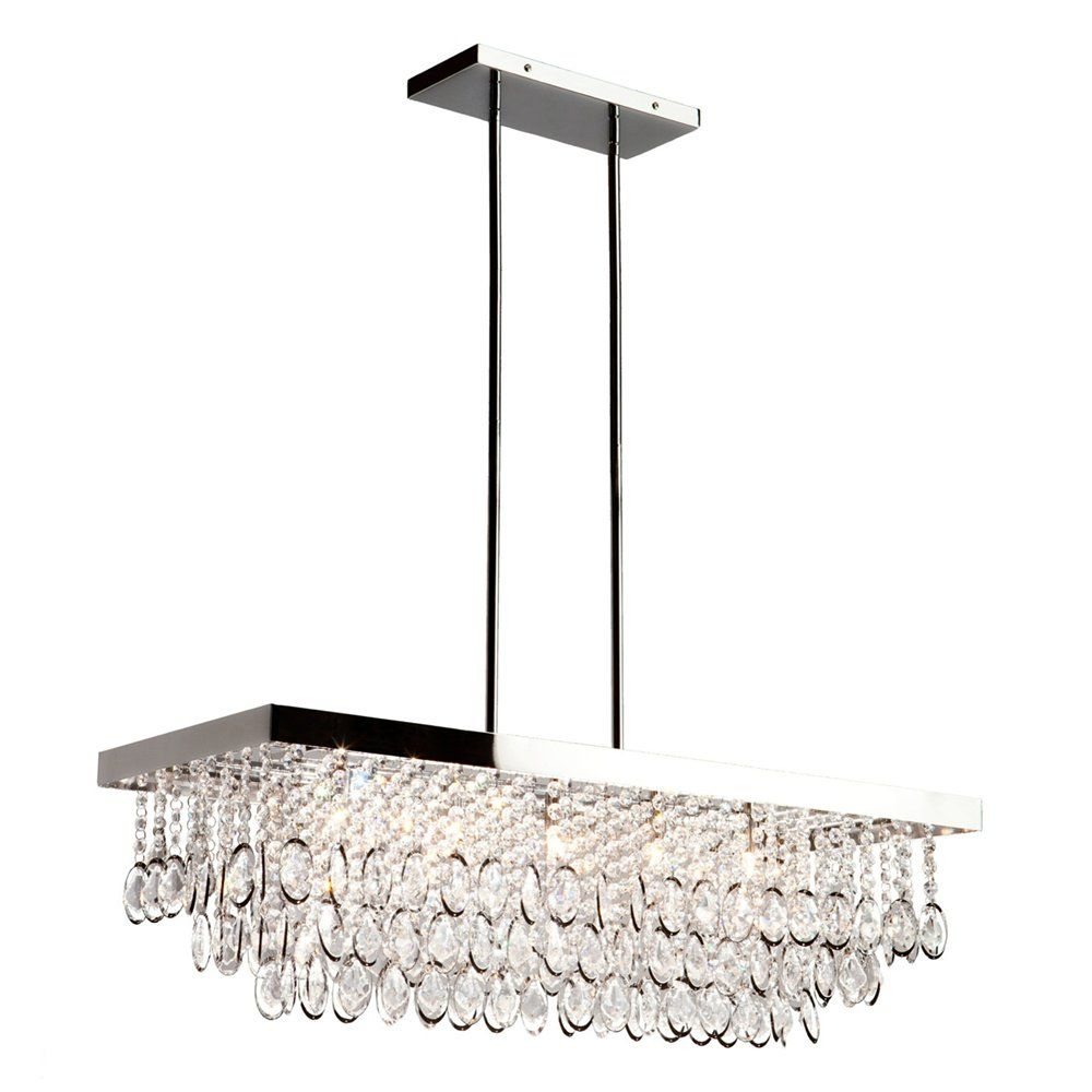 From lowes chandelier pinterest house decorating and future buy the artcraft lighting chrome direct shop for the artcraft lighting chrome elegante 5 light crystal linear chandelier 32 inches wide and save mozeypictures Images