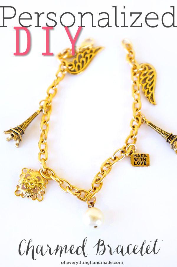 A Personalized DIY Charmed Bracelet