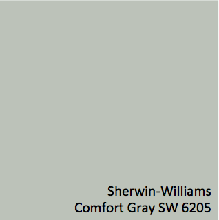 Sherwin williams comfort gray sw 6205 3 walls of gray 39 s - Sherwin williams comfort gray living room ...