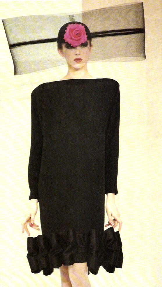 Pierre Cardin Haute-Couture, 1987.
