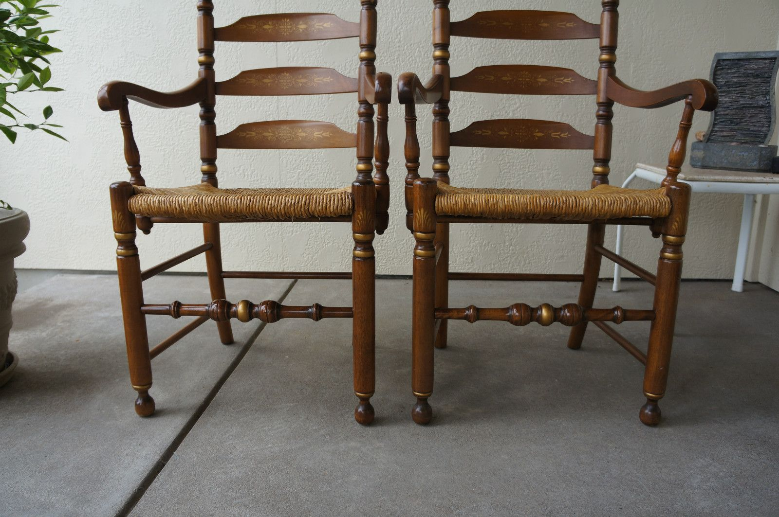 Hitchcock Chairs~ Hitchcock Chairs~ Dining Arm Chairs~Early American Chairs~