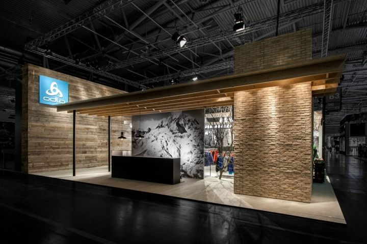 ODLO trade fair stand at ISPO 2014 by LABORROTWANG, Munich ...