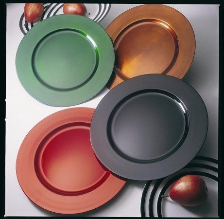 Ten Strawberry Street LACPR-24 13 in. Lacquer Plain Round Chargers Plate - Copper  sc 1 st  Pinterest & Ten Strawberry Street LACPR-24 13 in. Lacquer Plain Round Chargers ...