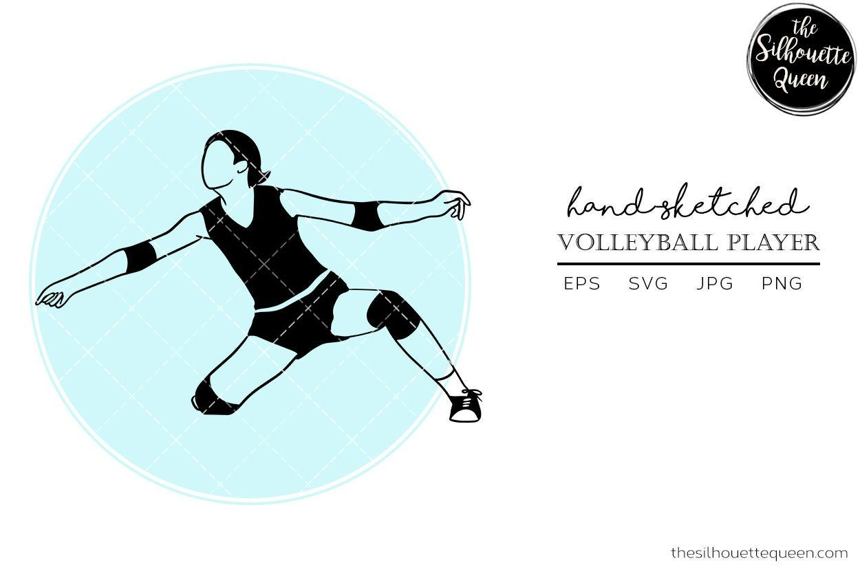 Beach Volleyball Players Vector Silhouette Isolated On White Background Beach Volleyball Vector S Silhouette Illustration Beach Volleyball Volleyball Players